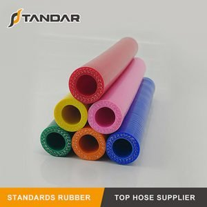 Colorful Auto Cooling System 1 Meter Straight Silicone Hose