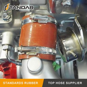 Application of Wire Silicone Hump Hose