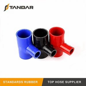 High Temp T-Shape Silicone Hose For Radiator Cooling System