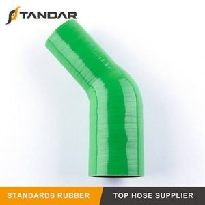 High Temperature 4-Ply Reinforced 45° Reducer Silicone Hose