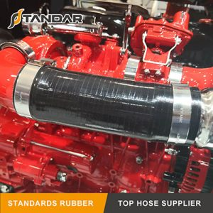 Application of 1525145 Scania Charger Intake Hose