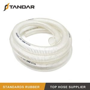 High Pressure FDA Stainless Steel Wire Reinforced Silicone Hose